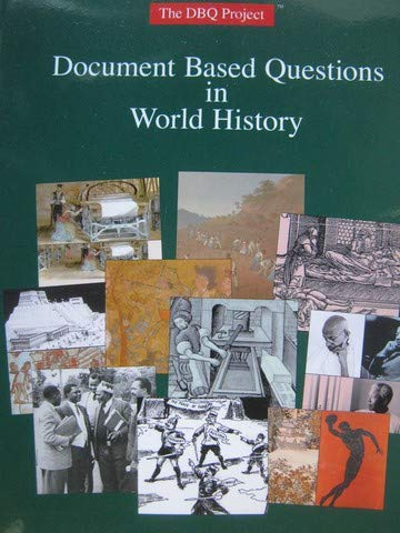 Document Based Questions in World History