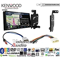 Volunteer Audio Kenwood Excelon DNX994S Double Din Radio Install Kit with GPS Navigation Apple CarPlay Android Auto Fits 2011-2014 Nissan Juke