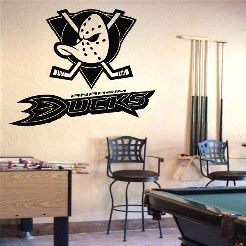 Anaheim Mighty Duck Logo Emblem Wall Art Sticke Decal (S507)
