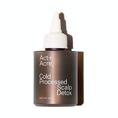 Act Acre- Cold Processed Scalp Detox removes product build-up and delivers nutrients to the hair follicle. 3.4 FL oz