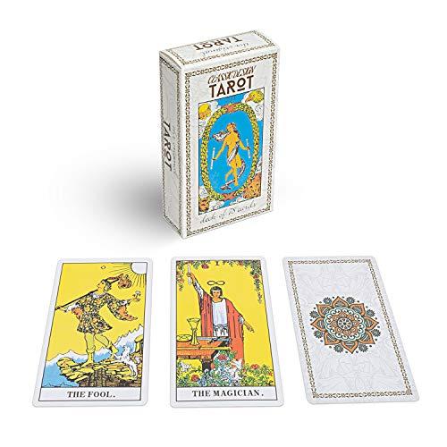 Classic Design Tarot Cards Deck with Guidebook
