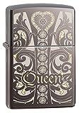 zippo black ice pocket lighter - Zippo Queen Black Ice Pocket Lighter