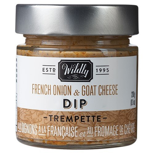 French Onion & Goat Cheese Dip by Wildly Delicious (8.1 ounce)