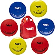 Disc Golf Set – Include Fairway Driver, Mid-Range, Putter Disc and Disc Golf Carry Bag, 6 Pack