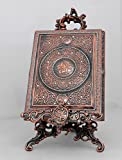 Islamic Muslim metal Quran box with stand / Home Decorative # 1665