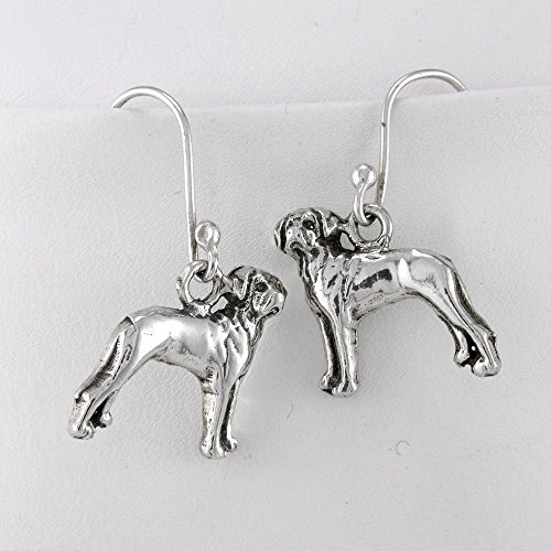 Fine Arf Earrings Rhodesian (Rhodesian Ridgeback Earrings)