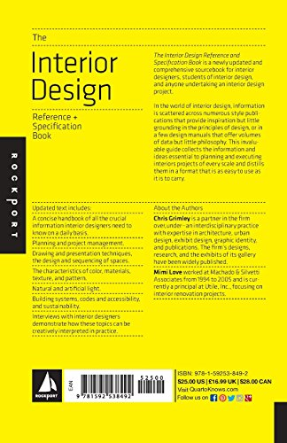 The Interior Design Reference Specification Book Everything Import It All