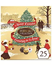 Ferrero Collection Chocolate Christmas Advent Calendar, Fine Assorted Chocolate and Coconut Candy, 25 Count Individually Wrapped Candies, 271 Grams