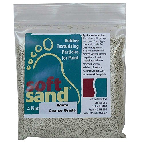 SoftSand Rubber Particles SR-101 Non-Skid Coatings - 4 oz.