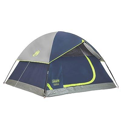RT 7 x 7 Foot of 3-Person Blue Weathertec Sundome Tent: Garden & Outdoor