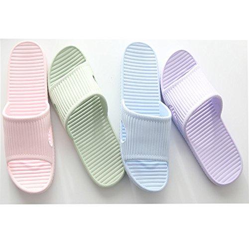 Sommer Slip Hausschuhe Dusche Schuhe Unisex Damen schlüpfen Leicht Khaki Anti Weich Eagsouni Herren OqxawtCHS6