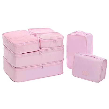 Paquete De 7 Cubos De Embalaje, Cubo De Bolsas Impermeables ...