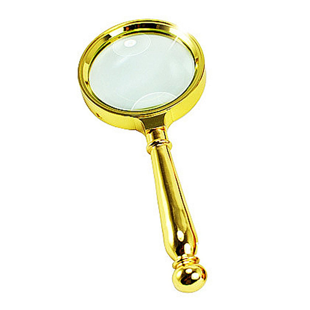 Tanice LED Magnifying Glass 2X 6X Reading Magnifier with 2 LED Light Hands Free for Reading Needlework Hobbies Crafts Inspection