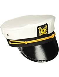 Rhode Island Novelty Adult Yacht Captain Hat Costume Accessory-One size