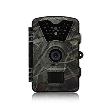 JUILARY-Cameras Cámara De Trail Al Aire Libre De Animales Salvajes Cámara Ultra HD Impermeable