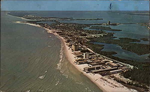 (Lido Key Sarasota, Florida Original Vintage Postcard)