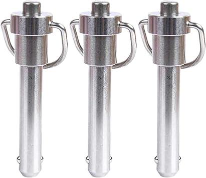 Spannlänge 6mm Kugelsperrbolzen Schnellverschlussstift aus Edelstahl