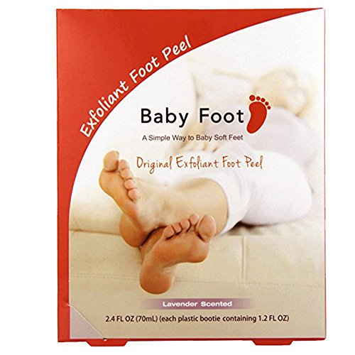 Baby Foot Exfoliant Foot Peel, Lavender Scented, 2.4 Fl. Oz
