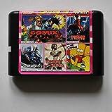 Taka Co 16 Bit Sega MD Game Comix Zone/ Spiderman/ Shadow Dancer/ Super Hang on/ Simpsons 16 bit MD Game Card For Sega 16bit Game Player