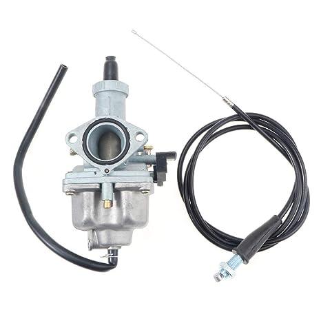 Amazon.com: Carburetor W/Throttle Cable For Honda XR100 XL100S ... on