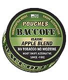 tobacco alternative pouches - BaccOff, Classic Apple Blend Pouches, Premium Tobacco Free, Nicotine Free Snuff Alternative (1 Can)