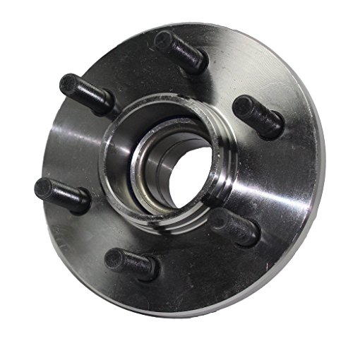 Detroit Axle 2WD ONLY Front Wheel Hub and Bearing Assembly Driver or Passenger Side 6 Lug for 1997-2004 Dodge Dakota 2WD - [1998-2003 Dodge Durango 2WD] - NO Front ABS