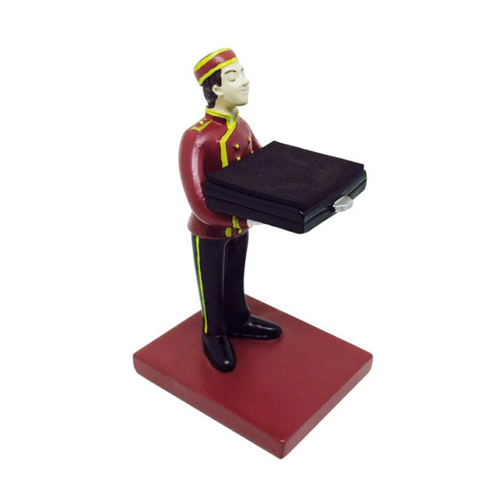 Seto Craft Motif. Various Small Figures Watch Stand (Bell Boy)