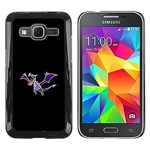 Caucho caso de Shell duro de la cubierta de accesorios de protección BY RAYDREAMMM - Samsung Galaxy Core Prime - Aerodactyl P0kemon
