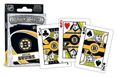 (MasterPieces NHL Boston Bruins Playing Cards)