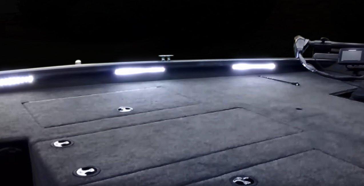 BLAST LED NOX Series - Boat LED Front Deck Light Kit, Interior LED light kit - (WHITE) by BLAST