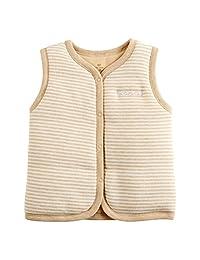 M.V Baby Cotton Warm Vests Unisex Infant to Toddler Light Padded Waistcoat