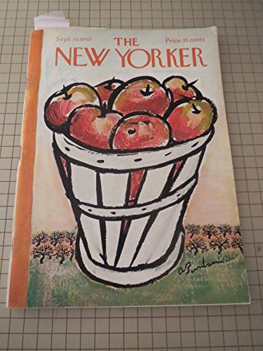 Sept.30,1967 The New Yorker: R.Prawer Jhabvala - L.Woiwode - U.S.Lawn Tennis Championships - The Air:A Day in the Life (Saigon) - Reporter at Large:Days at the Zoo - Emily Hahn -
