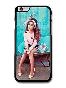 Ariana Grande Blue Background Popstar Singer case for iPhone 6 Plus
