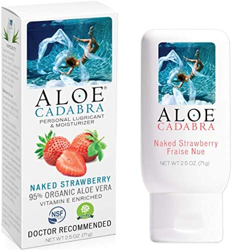 Personal Lubricant Strawberry Aloe Cadabra product image