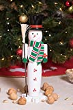 Snowman Nutcracker by Clever Creations   Dressed