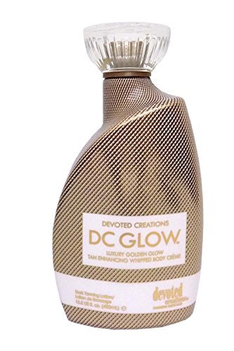 DC Glow, Tan Enhancing, Whipped Body Creme Lotion 13.5 Ounce