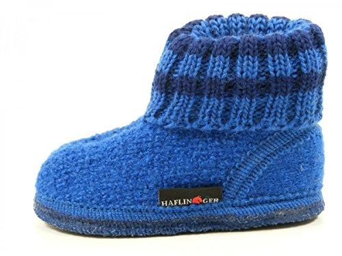 Haflinger Paul, Zapatillas de Casa, Infantil Blau