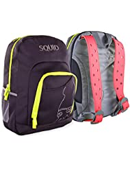 SquidPack Customizable Kids Backpack with Interchangeable Straps and Charms