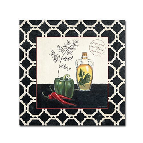 Parsley and Peppers Wall Decor by Marco Fabiano