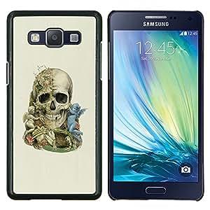 LECELL--Funda protectora / Cubierta / Piel For Samsung Galaxy A5 A5000 -- Ángel Calavera --