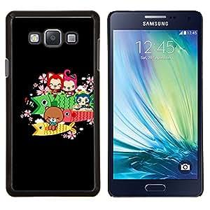 For Samsung Galaxy A7 A7000 Case , Naturaleza Hermosa Forrest Verde 168- Diseño Patrón Teléfono Caso Cubierta Case Bumper Duro Protección Case Cover Funda