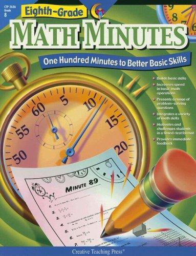 Amazon.com: Eighth Grade Math Minutes (0030554026362): Doug ...