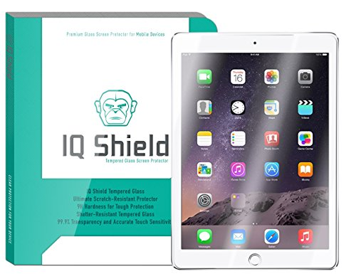 Lcd Protector Cover Sheets (Apple iPad Screen Protector, IQ Shield Tempered Ballistic Glass Screen Protector for iPad 2017 (iPro 9.7