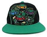 Black Animigos Teenage Mutant Ninja Turtles Snapback [Apparel]