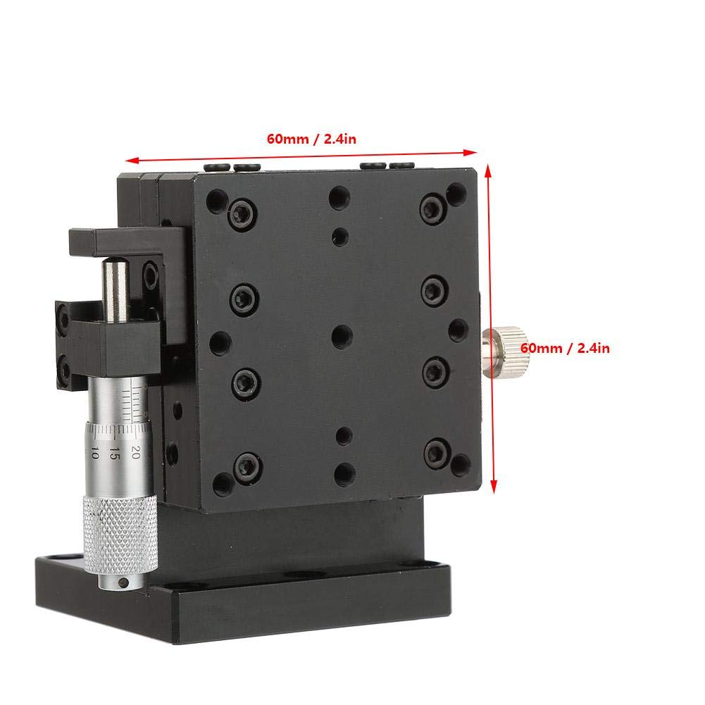 Linear Stages Z SEMZL60-AS Micrometer Manual Slide Table Crosses Roller Bearing Vertical Linear Stage-Quality is Our Culture