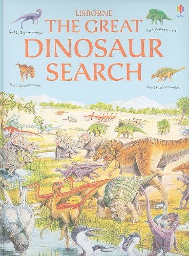 The Great Dinosaur Search (Great Searches) by Rosie Heywood (2010-06-23)