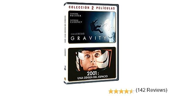 Pack Gravity + 2001: Odisea Del Espacio [DVD]: Amazon.es: Sandra Bullock, George Clooney, Keir Dullea, Gary Lockwood, Alfonso Cuarón, Stanley Kubrick, Sandra Bullock, George Clooney, Alfonso Cuarón, Stanley Kubrick: Cine y Series