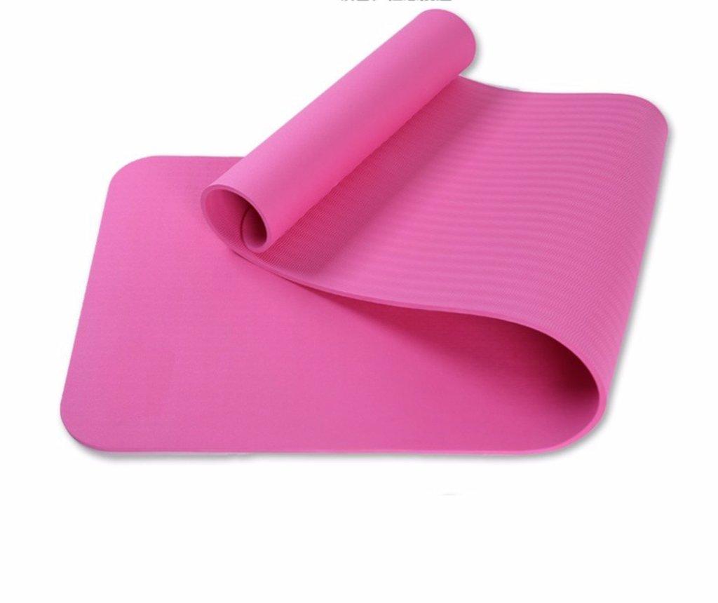 Thickness6mm Tapis de Yoga, élargissez Le débutant de 80cm Tapis antidérapant Allongez Le Tapis de Yoga antidérapant JSSFQK (Couleur    1, Taille   Thickness 10mm)