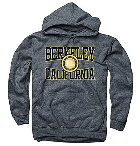 21204311b36 Amazon.com  Shop College Wear Men s UC Berkeley 3 Color Seal Berkeley  California Cutout Hoodie Sweatshirt  Sports   Outdoors