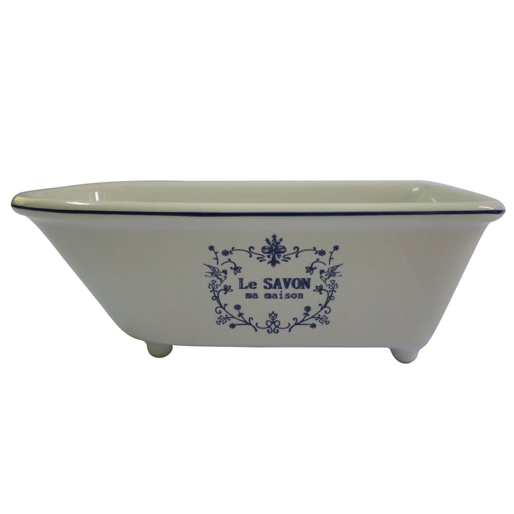 Kingston Brass BATUBRW Aqua Eden Mini Ceramic Classic Bathtub, 5-5/8-Inch x 2-15/16-Inch x 1-15/16-Inch, White by Kingston Brass